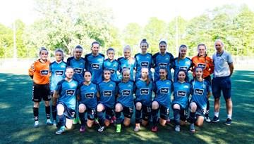 Rīgas Futbola skola-1 sasniedz Latvijas kausa pusfinālu sievietēm