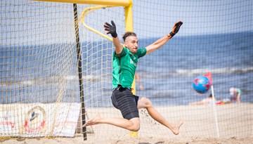 Jūrmalas kausa posmā pludmales futbolā uzvar Joga Bonita