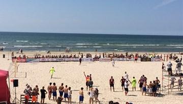 Latvijas kausu pludmales futbolā iegūst Linden City BSC