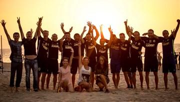 Linden City BSC nodrošina čempionu titulu pludmales futbolā