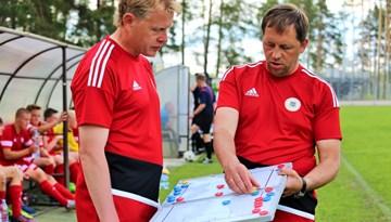 Cīņu par LFF Neatkarības kausu piektdien uzsāks Latvijas U-16 futbolisti