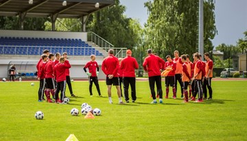 Latvijas U-18 izlase pārbaudes spēlēs 19. un 21. jūlijā tiksies ar Islandes vienaudžiem