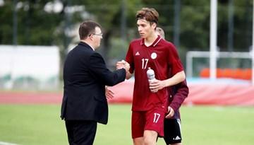 Dainis Kazakevičs paziņojis U-21 izlases kandidātu sarakstu Baltijas kausa spēlēm