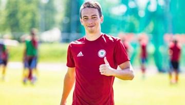 Latvijas U-21 izlase šodien Jūrmalā uzņem Igauniju