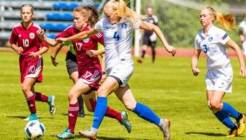 Latvijas WU-17 izlase atspēlējas un nospēlē neizšķirti ar Igauniju