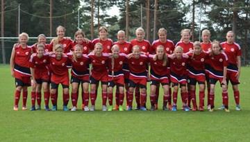 FOTO: LFF Futbola akadēmijas talantu skate meitenēm Staicelē