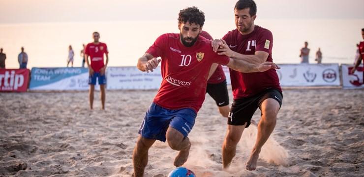 Noslēdzies Latvijas pludmales futbola čempionāts
