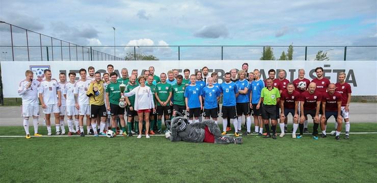 Artura Vaidera kausa otrajā turnīrā uzvar Jelgavas komanda, mediju trofeju iegūst lietuvieši