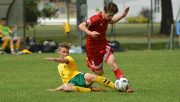 Latvijas U-17 B izlase uzvar LFF FA kausa izcīņas turnīrā