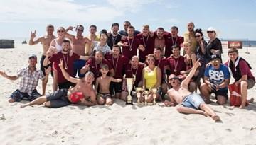 Liepāja uzņems Latvijas kausa izcīņu pludmales futbolā