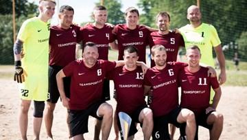 Latvijas Superkausu pludmales futbolā iegūst Kreiss