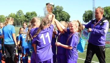 Meiteņu čempionāta U-12 Elites grupas zeltu izcīna AFA Olaine