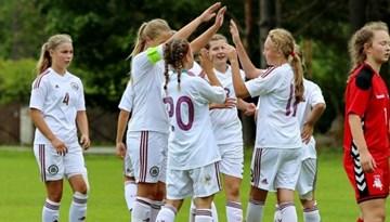 Latvijas WU-15 izlase ar uzvaru startējusi Baltijas kausa izcīņā