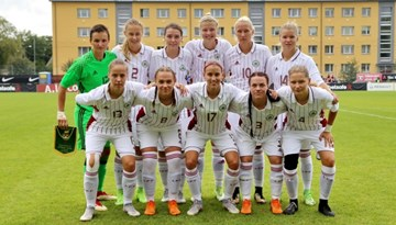 Latvijas izlasei pārliecinoša uzvara Baltijas kausa ievadā pār Lietuvu