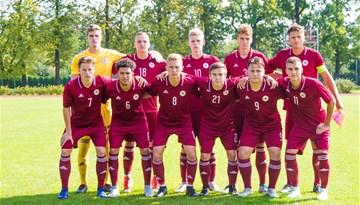 Federācijas kausa izcīņas pirmajā spēlē U-19 izlase zaudē Maķedonijai