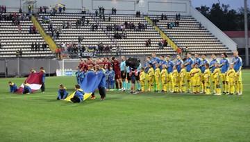 Latvijas U-21 izlase piedzīvo zaudējumu Ukrainā