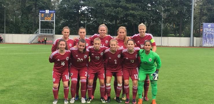 Latvijas WU-19 izlase otrajā pārbaudes spēlē uzvar Gruziju