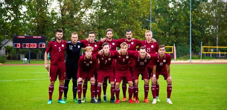 Latvijas U-21 izlase spraigā cīņā piekāpjas Anglijai