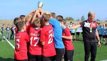Balvu jaunieši uzvar U-13 Attīstības grupas finālturnīrā