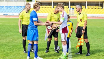 Latvijas U-17 izlase LFF Federācijas kausa atklāšanas spēlē tiksies ar Somiju