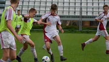 LFF Futbola akadēmija pulcē U-16 izlases tuvākās rezerves