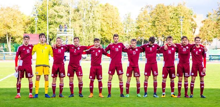 Latvijas un Maķedonijas U-17 izlase cīnīsies par pirmajiem punktiem
