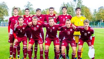 Latvijas U-17 izlase LFF Federācijas kausa pirmajā spēlē piekāpjas Somijai