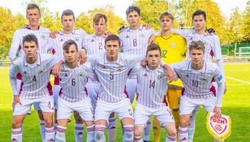 U-17 izlase LFF Federācijas kausa izcīņā piedzīvo zaudējumu pret Maķedoniju