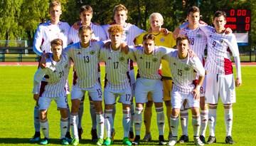 Federācijas kausa izcīņas noslēdzošajā spēlē Latvijas U-17 izlase izrauj neizšķirtu pret Krieviju