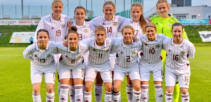 U-19 meiteņu izlase EČ kvalifikācijas turnīru iesāk ar zaudējumu