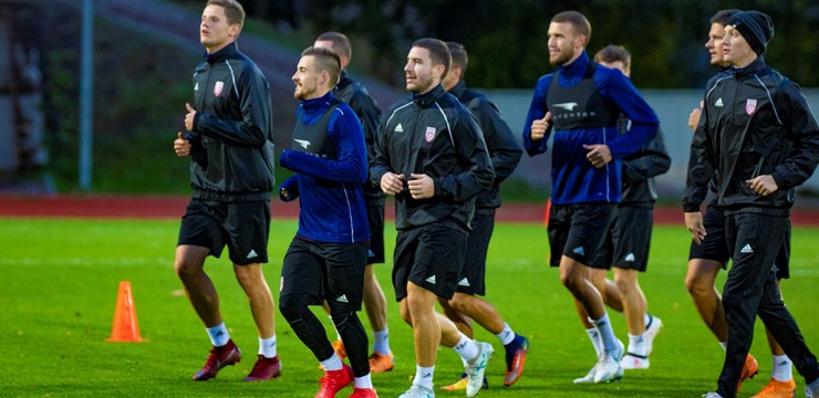 #11vilki gatavojas spēlēm pret Kazahstānu un Gruziju