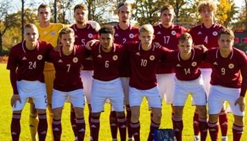 Latvijas U-19 izlase pārbaudes spēlē pārspēj Grieķiju
