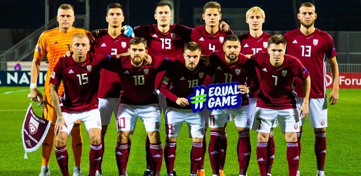 Latvijas izlase spēlē neizšķirti ar Kazahstānu