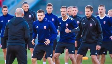 #11vilki pozitīvā noskaņojumā gatavojas spēlei pret Gruziju