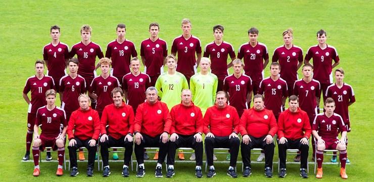 Latvijas U-17 izlase devusies uz UEFA Eiropas čempionāta kvalifikācijas turnīru Moldovā