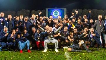Riga FC pirmoreiz iegūst Latvijas kausa trofeju