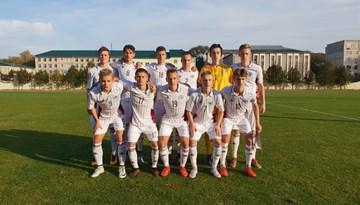 Latvijas U-17 izlase atzīst Beļģijas jauniešu pārākumu