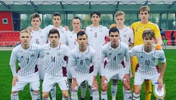 Latvijas U-17 izlase atspēlējas un izcīna neizšķirtu pret Moldovu
