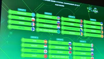 Notikusi UEFA Eiropas U-19 telpu futbola čempionāta kvalifikācijas izloze