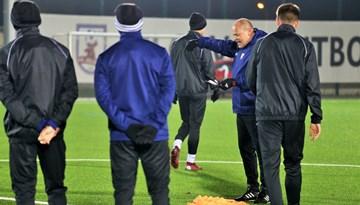 #11vilki aizvadījuši pirmo kopīgo treniņu Jelgavā