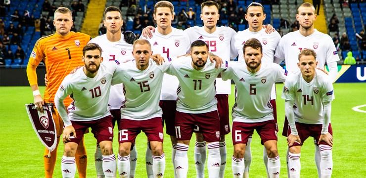 Latvijas izlase no Astanas atved vienu punktu