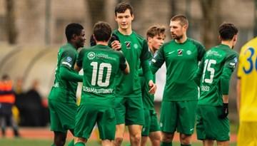 FK Metta/LU pārspēlēs nodrošina pārliecinošu panākumu