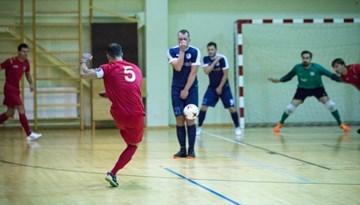Iezīmējas grupu līderes Rīgas telpu futbola čempionātā