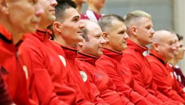 Artūrs Šketovs: spēles pret Igauniju būs noslēdzošā pārbaude Pasaules kausa kvalifikācijas