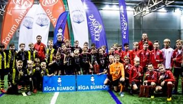 """Noslēgusies 2018. gada """"Rīga BUMBO!"""" bērnu turnīru sērija"""