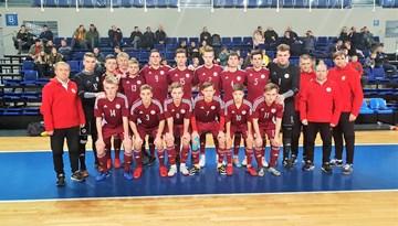 Latvijas U-19 izlase pirmajā pārbaudes spēlē pārspēj lietuviešus