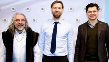 Rīgā tikušies Baltijas valstu futbola federāciju prezidenti