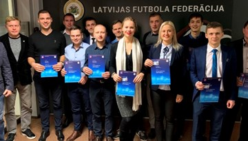 B-UEFA treneru rindas papildina jauni speciālisti