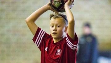 """Rīgas reģiona U-14 izlase uzvar """"Riga Cup"""" turnīrā"""