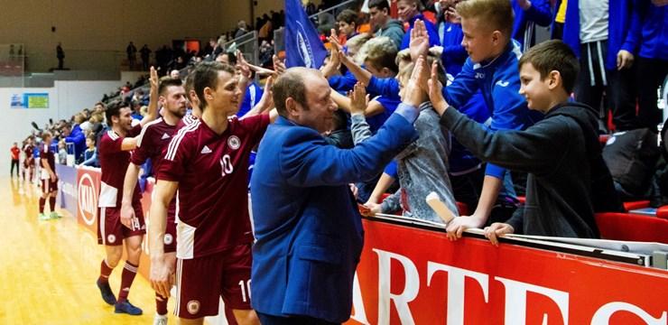 Artūrs Šketovs: Pie šāda līdzjutēju atbalsta mēs nevarējām slikti nospēlēt!